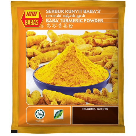 Baba's Turmeric Powder 125gm
