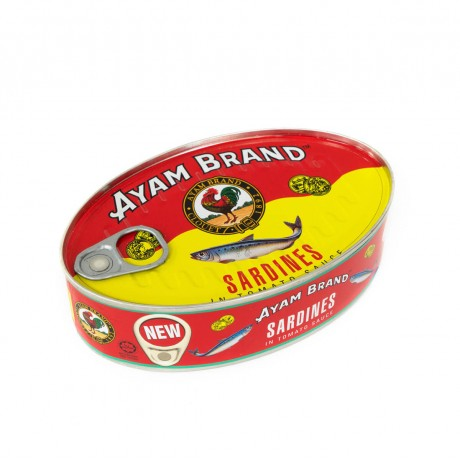 Ayam Brand Sardines in Tomato Sauce (Small Oval) 215gm
