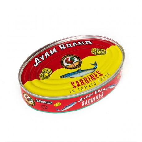 Ayam Brand Sardines in Tomato Sauce (Big Oval) 425gm