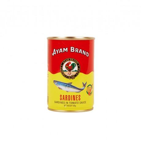 Ayam Brand Sardines in Tomato Sauce (Big Tall) 425gm
