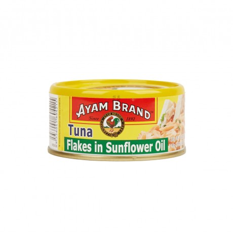 Ayam Brand Tuna Flakes in Sunflower Oil 150gm