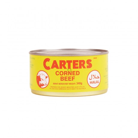 Carters Corned Beef 340gm