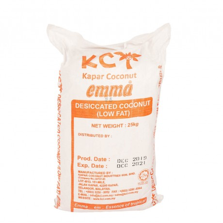 Emma Low Fat Desiccated Coconut 25kg