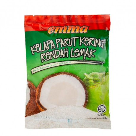 Emma Low Fat Desiccated Coconut 120gm