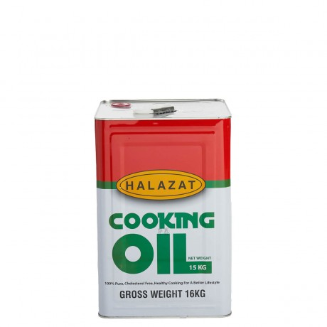 Halazat Vegetable Cooking Oil 15kg