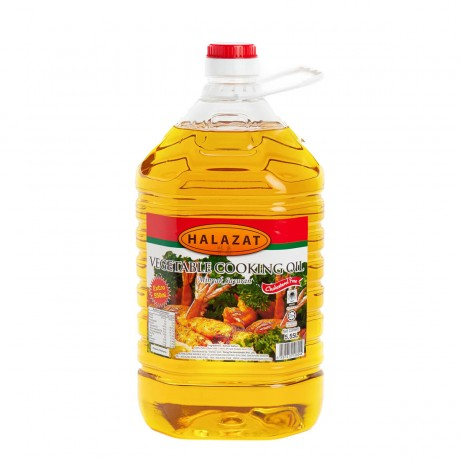Halazat Vegetable Cooking Oil 5L + extra 500ml