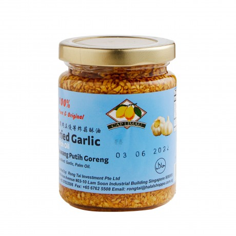 Lemon Brand Fried Garlic with Oil (100% Pure) 200gm