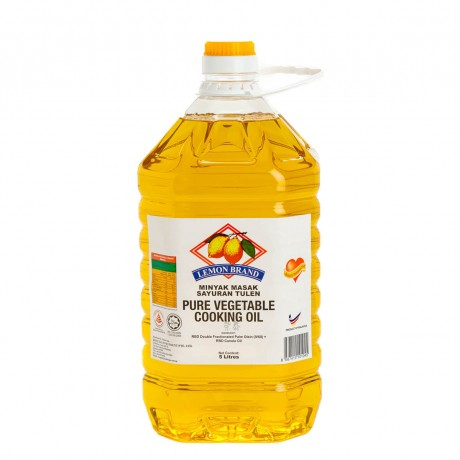 Lemon Brand Health Choice Vegetable Cooking Oil 5L