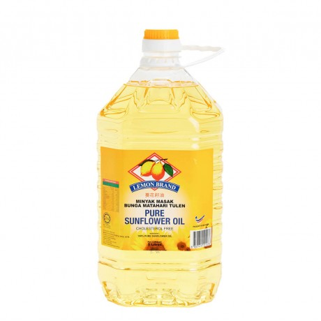 LEMON BRAND SUNFLOWER OIL 5L