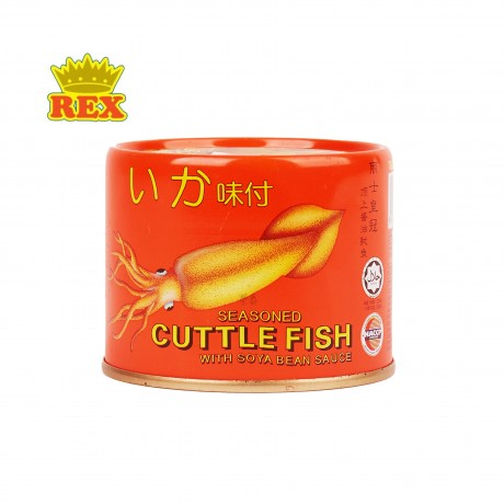 Rex Cuttlefish in Soy Sauce 170gm