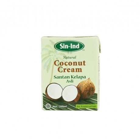 Sin-Ind Coconut Cream 200ml